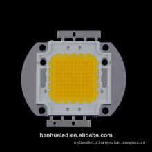 Microplaqueta branca 100w branca / morna do diodo emissor de luz