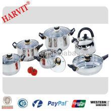 12pcs stainless steel kitchenware set