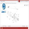 Siemens D4 gear motor 03009269-02
