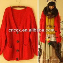 12STC0715 camisola de caxemira das mulheres tricô fabricante