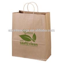 Saco de papel promocional eco