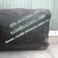 Inflatable Rubber Balloon in Concrete Pipe