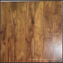 Plancher en bois d'acacia machiné de haute qualité