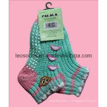 Носки детские домашние, Носки акриловые туфли, Крытые носки против скольжения