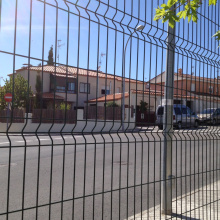 Anti-UV Safety Galvanized Gradil Fence Standard