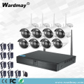 CCTV 8CH 720P Wireless-Sicherheits-Wifi-NVR-Kits