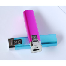 Lipstick Digital Portable Charger Power Bank