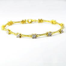 Bracelets à bijoux en or 925 bijoux à la mode les plus récents de la catégorie K-1768. JPG)