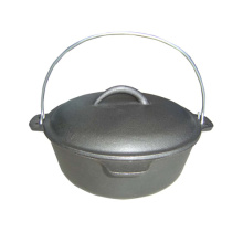 1.5 QT Pre-seasoned Cast Iron Dutch Oven