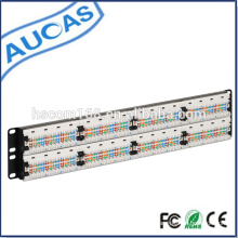 Rack Mount IDC Cat6 Cat5e 24 ports Patch Panel / Cat5e IDC 24 ports Patch Panel / amp 48 port cat5e cat6 patch panel