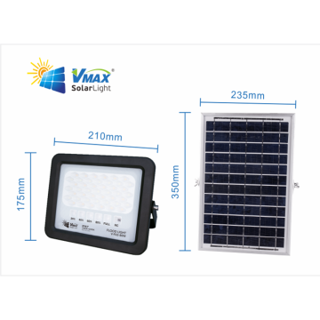 luz de inundación llevada solar con el sensor