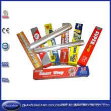 Барбекю пищевой упаковки используйте Рециркулируйте алюминий фольга