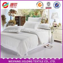 100% algodão faixa de cetim 300TC tecido de algodão para o têxtil de casa 1 cm tira de cetim 250 fio de contagem de algodão projeto do hotel conjunto de cama