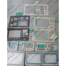 6FC5603-0AC12-1AA0 Interruptor de membrana para TODO EL TECLADO CNC 802D