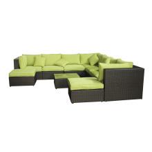 Hotel jardim de estilo sofá estilo contemporâneas