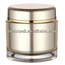 Tarro de crema de acrílico redondo 100ml 200ml