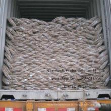 O fio de aço galvanizado / galvanizou o fio do ferro / fio obrigatório da fábrica