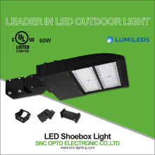 Leader in outdoor lighting factory sell 60w led parking lot light