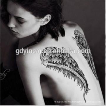 Pequeño tatuaje sexy temporal cuerpo brazo y mano etiqueta engomada de la moda extraíble a prueba de agua