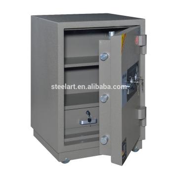 Coffre-fort de banque de serrure de Digital / coffre-fort de banque de deux rangées avec le tiroir à l'intérieur