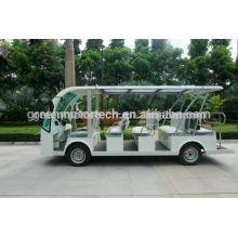 Hochwertige 14 Sitzer elektrische Touristenbus Sightseeing Cart Golf Carts mit Sporttourismus und Hotel verwenden