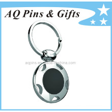 Bronze Promotional Key Chain with Enamel Color