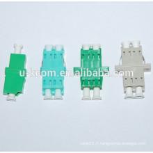 Adaptateur fibre optique LC adapté au panneau de raccordement fibre optique