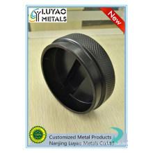 Black Powder Coated Aluminum Machining 6061 7075 5052 6063 CNC Machining