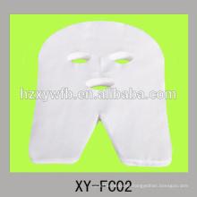 máscara facial de beleza não tecida descartável feita de viscose ou algodão ou fibra