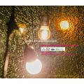 cuerdas de iluminación impermeable al aire libre de vacaciones E14 E27 48FT SLT-198