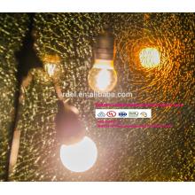feriado ao ar livre à prova d 'água cordas de iluminação E14 E27 48FT SLT-198