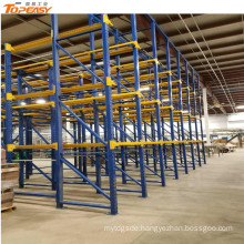 powder coated drive-in rack for warehouse system