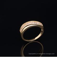 Atacado top jóias simples projetos anel de dedo de ouro