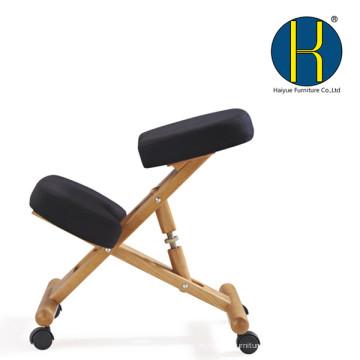 HY5001-2 Haiyue Ergonomic Kneeling Chair PU Leather posture correcting kneeling chair