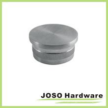 Capa de extremidade plana para trilhos arquitetônicos para tubos redondos (HSA403)