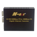 gigabit external SFP port media converter