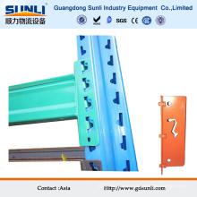 Faisceau vertical de support de stockage industriel