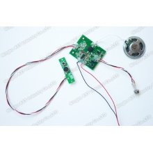 PIR Sensor Sound Chip, module sonore PIR, module vocal enregistrable