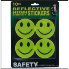 High Visiable Reflective Smile Stickers