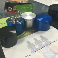 2015 Meistverkaufte Smoke Grinder Aluminium Handle Rolling Grinder Beliebte Herb Grinder