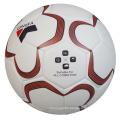 Bola de encargo al por mayor de la PU tamaño de la bola de Soccaer 5
