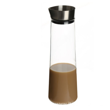 High Quality Industrial Factory for Water Pitcher High Grade Mouthblown Borosilicate Glass Water Pitcher supply to Nigeria Suppliers