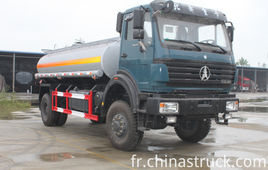 Beiben off-road fuel truck