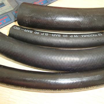 las ventas calientes comercializan la trenza flexible flexible de la manguera de goma al aire / agua
