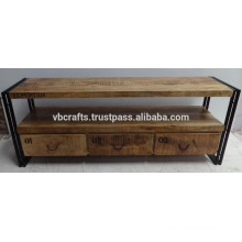 Vintage Shabby Chic Tv Stand with Drawer