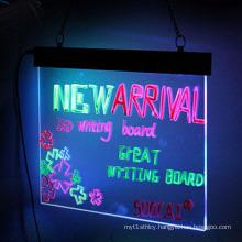 Acrylic LED Message Writing Board, DIY Flashing Illuminated Acrylic Signs