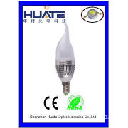 HOT SALE LED candle light/ candle light bulb for Christmas