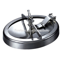 sanitary stainless steel round tank manhole with pressure