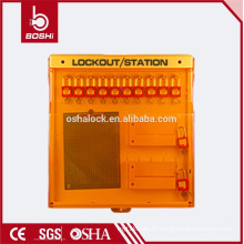 BD-B210 / 210W BRADY combinaison station de verrouillage avancée avec 10 cadenas, China Lockout Station