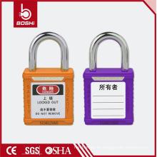 BOSHI Candado de seguridad de acero inoxidable BD-G53 con grillete corto 25mm